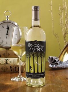 Think refreshing tasting citrus and lemon chiffon. The perfect glass to kick off  your shoes with. #OnceUponAVine The Lost Slipper Sauvignon Blanc | The Wine Bar