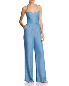 cb2251669a92 Lovers and Friends Anna Chambray Jumpsuit Women - Bloomingdale s