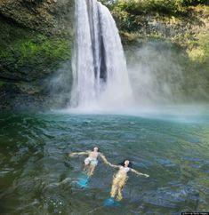 Wailua Falls, Maui - 20 Most Breathtaking Spots in Hawaii Trip To Maui, Hawaii Vacation, Vacation Places, Hawaii Travel, Dream Vacations, Vacation Spots, Places To Travel, Places To See, Big Island