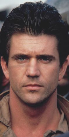 Mel Gibson or my husband they could be brothers.  See him in The Year of Living Dangerously