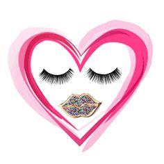 Glitter lips by Kiss & Wear
