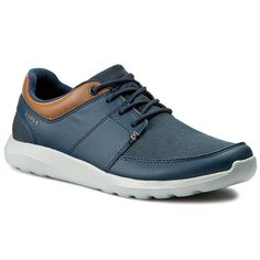 Półbuty CROCS - Kinsale Lace-Up 203052 Navy/Light Grey