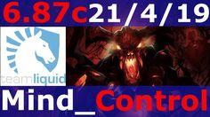 dota 2 Shadow Fiend patch 6.87  Mind_Control 7500+ MMR KDA - 21/4/19
