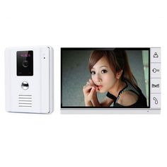 New Home use 9 inch Wired Video Door Intercom System Wide Angle IR Outdoor Camera for Apartment Security