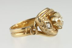 Interesting take on an obourous ring.