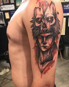 Tatuagem criada por Gustavo Takazone de Álvares Machado - SP.