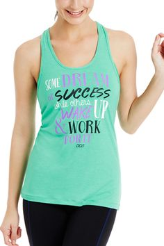 Work For It Tank | Just Landed