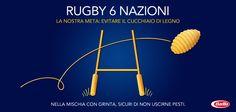 Sta per iniziare il #SeiNazioni di #rugby. In bocca al lupo da Barilla!  http://www.facebook.com/Barilla