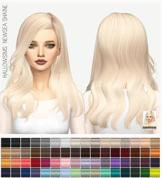 Miss Paraply: Newsea Shaine: Solids • Sims 4 Downloads