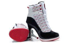 Air Jordan High Heel Sneakers