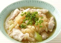 「豚ばらのおろし煮」の料理レシピ/完成イメージ