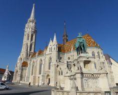 St. Matthias Church in Budapest (March 2014) - Photo taken by BradJill