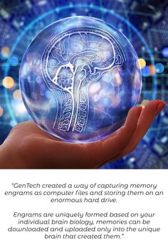 """Imagine if all your memories could be stored and returned to you, even after time or age diminished their detail. Our memories and experience make us who we are and the power to record consciousness would be amazing. """"Absolutely love the concept and the ways the characters and plot are developing."""" Amazon review this great read with action, adventure, technothriller and romantic suspense elements. Amazon Reviews, Near Future, Consciousness, Destiny, Action, Characters, Romantic, Concept, Memories"""