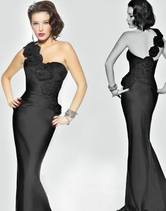 black evening gown    timeless glamour