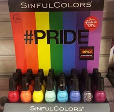 Spotted: NEW Sinful Colors Collection Sinful Colors, Nails 2016, Makeup News, Funny Names, Nail Polish Collection, Nail Care, Pride, Nail Ideas, Random Stuff