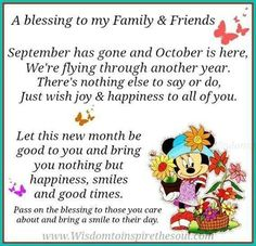 october blessings images | October Blessings Pictures, Photos, and Images for Facebook, Tumblr ...