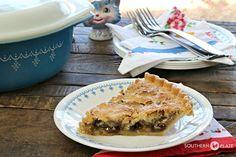 ***Grandma's Japanese Fruit Pie (Raisin and Coconut Pie)