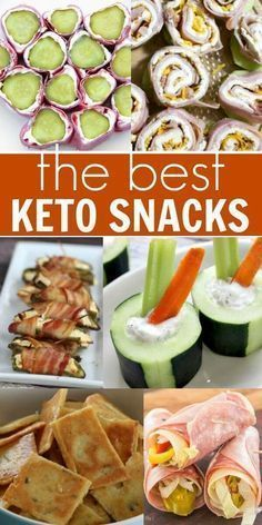 We have the best keto snacks to help you stay on track with the ketogenic diet. These Keto diet snacks are tasty and filling. Even better, the recipes for Ketogenic snacks are simple and easy. Give these Keto friendly snacks a try! Best Snacks, Healthy Tasty Snacks, Keto Snacks On The Go Ketogenic Diet, Good Snacks, Keto Diet Drinks, Good Diet Foods, Keto Sweet Snacks, Tasty Breakfast Recipes, Health Snacks