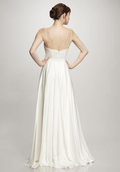 THEIA Grace A-Line Wedding Dress