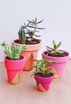 casa de fifia blog de decoração : 12 ideias para decorar vaso de planta