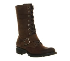 Timberland Charles Street Mid Brown Leather - Ankle Boots