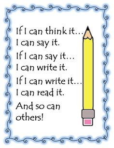 Hopefully this will help encourage my more reluctant writers this year.      First Grade Wow: writing