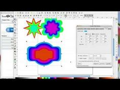 How to make Nested Shapes using Inkscape and then convert with Brother ScanNCut Canvas