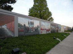 Flood Wall Murals, Paducah, Kentucky