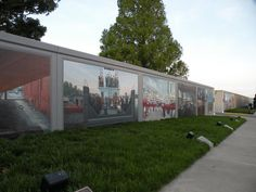 Flood Wall Murals, Paducah, Kentucky