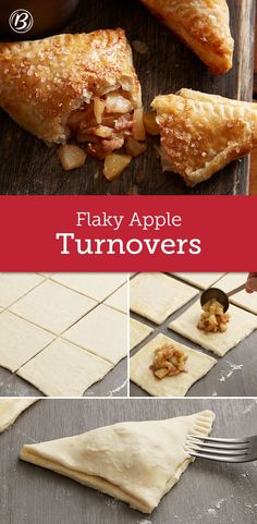 When homemade puff pastry pairs up with cinnamon apple filling, fall baking perfection ensues. We used Granny Smith apples while testing this recipe, but feel free to use your favorite baking apple, such as McIntosh, Braeburn or Jonathan.