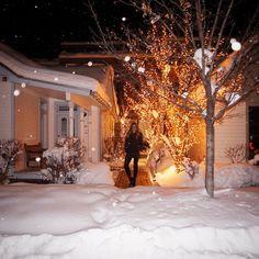 """""""My winter wonderland! Há 6 anos vindo aqui e essa é a melhor temporada de neve que já peguei! Ta demaisss!!! """""""