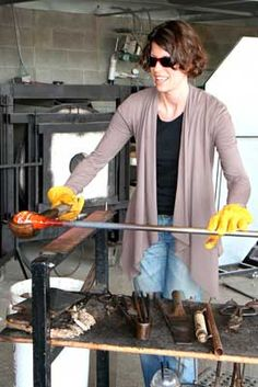 Jennifer L. Sears Glass Foundry  Lincoln City. Here is where you create your own float, or purchase one by the expert.