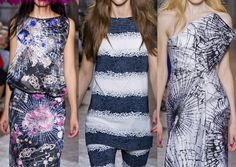 London fashion trends spring 2014 | destructed beauty gem stone and shattered glass plays banded patterns ...