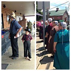24 horas entre Amish