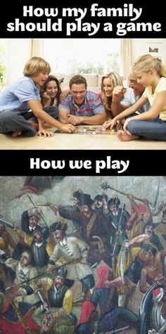 This is why I refuse to play with them ! We all cheat and we're all competitive AF