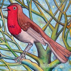katie alleva - 'birda' limited edition print