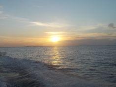 Sunrise heading out fishing