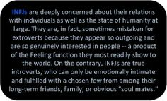 #INFJ This is so true. I have been mistaken for an extrovert because I can be open and friendly, but I SO need my downtime. Just as much as I need to verbally process my inner thoughts with a few trusted companions.