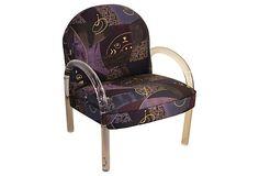 Lucite Midcentury Armchair on OneKingsLane.com