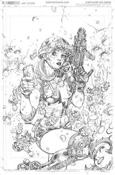 Justice League #47 variant cover - Harley's Little Black Book by Jim Lee *