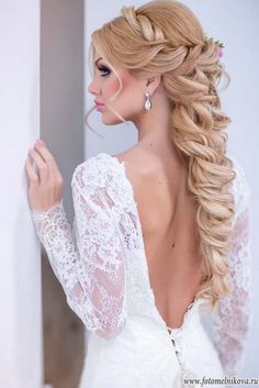 Art4studio long wedding hairstyles #weddings #hairstyles #bride #fashion ❤️http://www.deerpearlflowers.com/art4studio-wedding-hairstyles/
