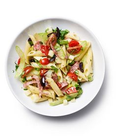 This Italian Deli Salad is perfect for a light dinner or a filling, delicious lunch.