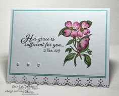 ODBDSLC187 Inspiration Challenge  Stamps - Our Daily Bread Designs Grow in Grace