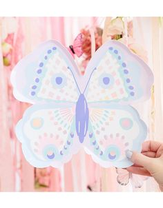 Butterfly Birthday Party, Birthday Plate, Birthday Party Themes, Birthday Ideas, Butterfly Garden Party, Birthday Table, 16th Birthday, Baby Birthday, Butterfly Shape