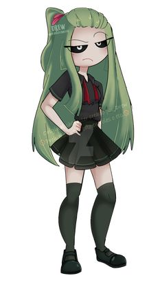 Cartoon Art Styles, Cute Art Styles, Cartoon Design, Anime Fnaf, Anime Chibi, Kawaii Art, Kawaii Anime, K Pop, Anime Wolf Girl