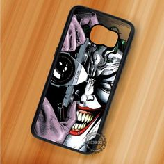 Say Cheese to Joker Camera DC Comics - Samsung Galaxy S7 S6 S5 Note 7 Cases & Covers