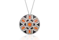 Lily Gabriella unveils geometric series of statement pendants
