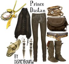 Prince of Persia by disneybound