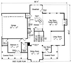 Some modifications....Farrell - Home Plans and House Plans by Frank Betz Associates