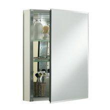 "View the Kohler K-CB-CLC2026FS 20"" x 26"" Single Door Reversible Hinge Frameless Mirrored Medicine Cabinet at FaucetDirect.com."
